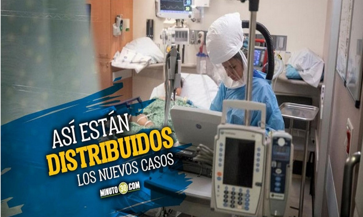 En menos de 24 horas Antioquia subió mil casos de Covid, hoy reportaron 3.401 nuevos contagiados