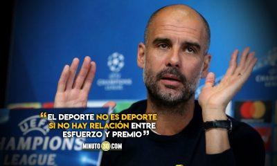 Contunde posicion de Pep Guardiola sobre la Superliga