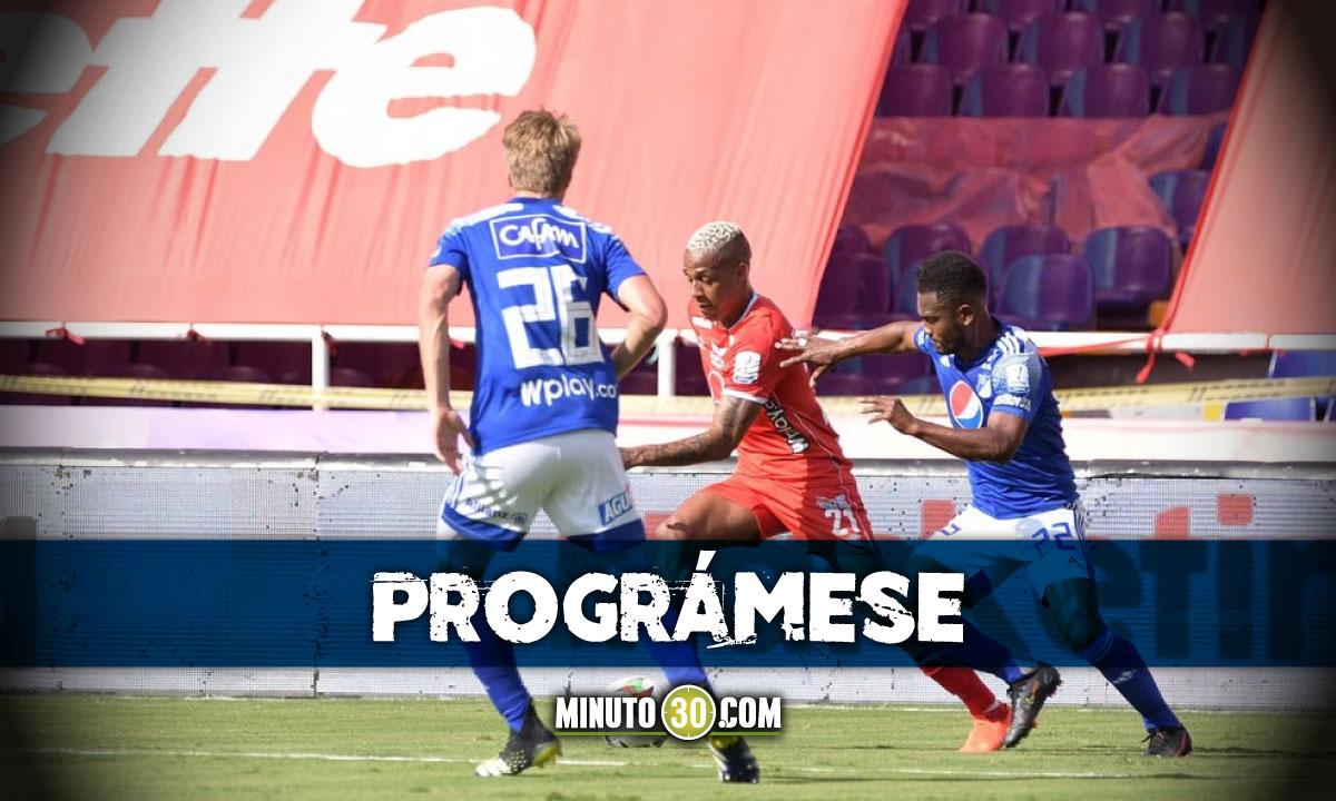 Cuartos de final de la Liga BetPlay I 2021 abren su programacion