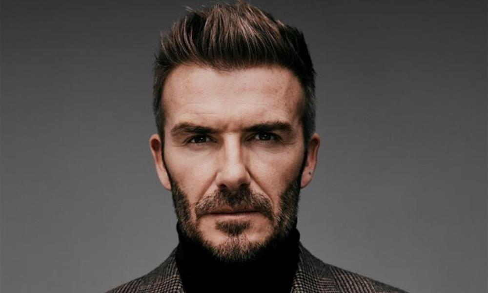 "Fotografía facilitada por Disney+ del futbolista David Beckham, que protagonizará la serie ""Save our quad. EFE"