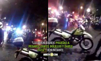 Denuncian agresión contra un profesor tras protestas en Copacabana