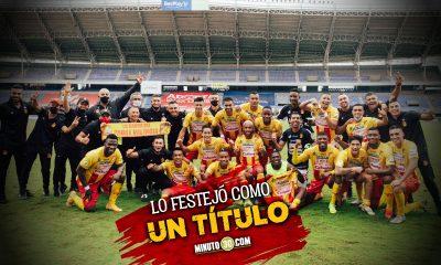 Deportivo Pereira celebra su permanencia en la primera division