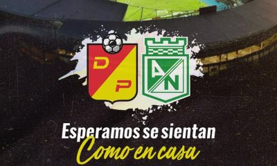 Deportivo Pereira le dio la bienvenida a Atletico Nacional I