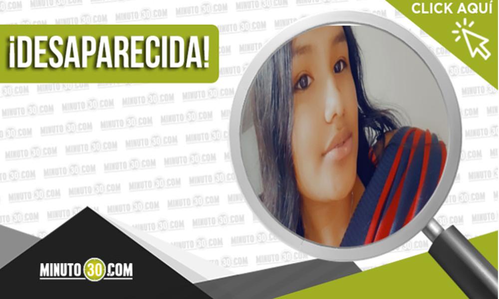 Buscan a Evelin Dahiana tiene 16 años y desapareció el 6 de abril en Itagüí