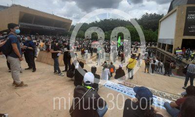 Movilizaciones de hoy en Medellín