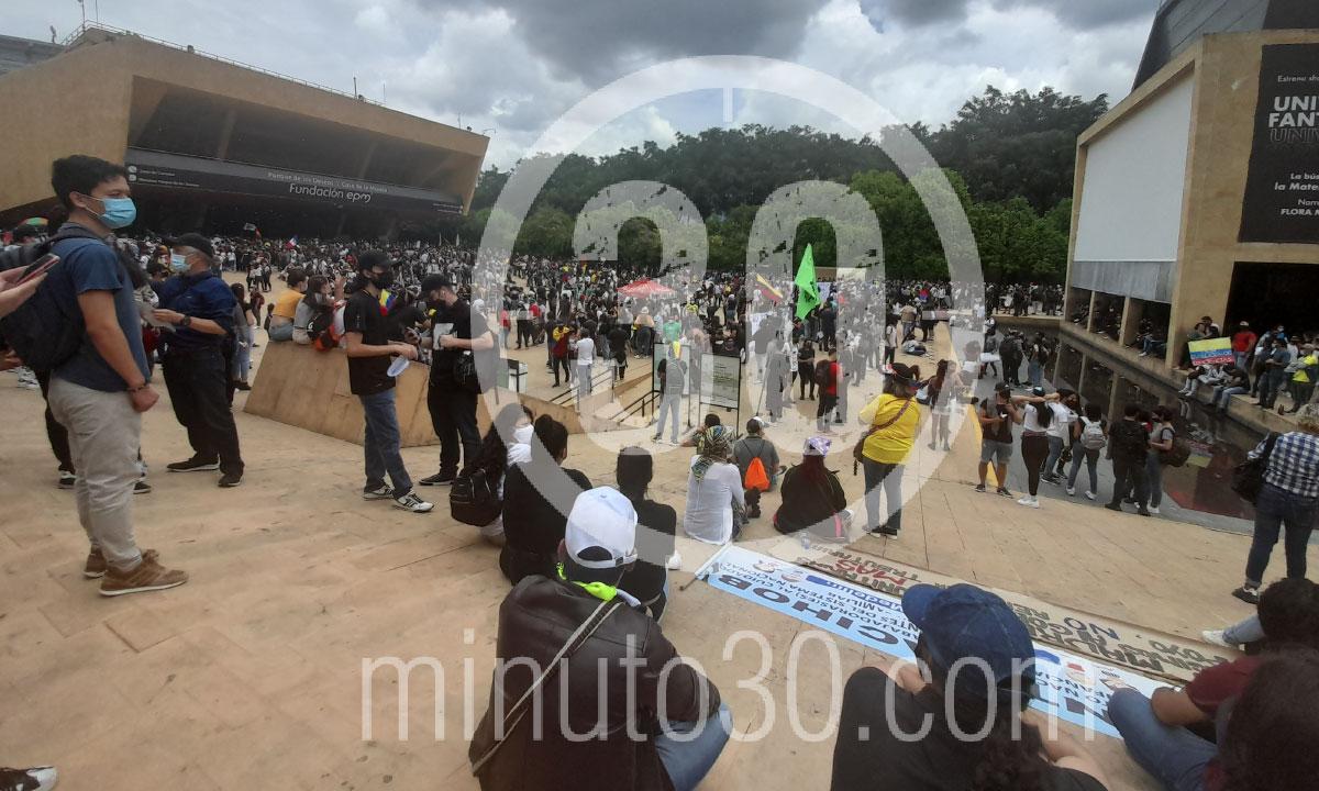 Manifestaciones de este martes, 28 septiembre, en Medellín