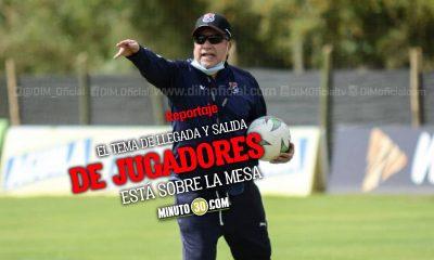 Directivos y cuerpo tecnico de Independiente Medellin analiza decisiones en conjunto