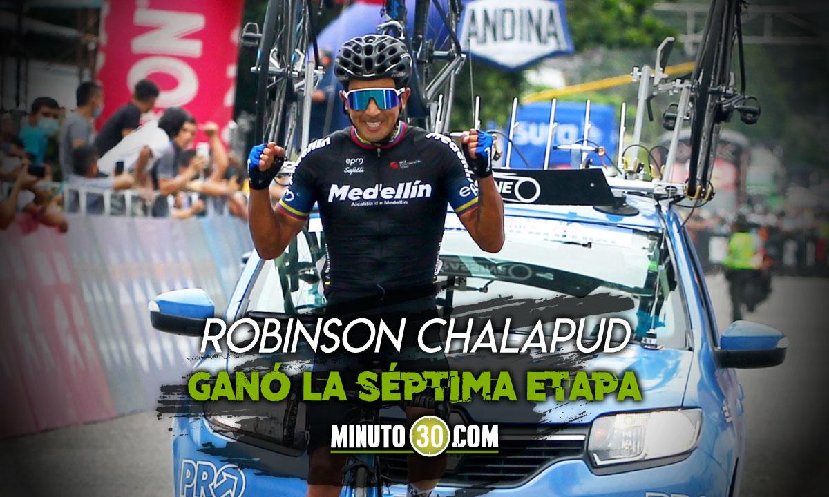El Team Medellin celebro de nuevo en la Vuelta a Colombia