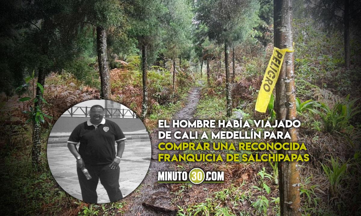 En Caldas habrian encontraron muerto al empresario que desaparecio en Medellin
