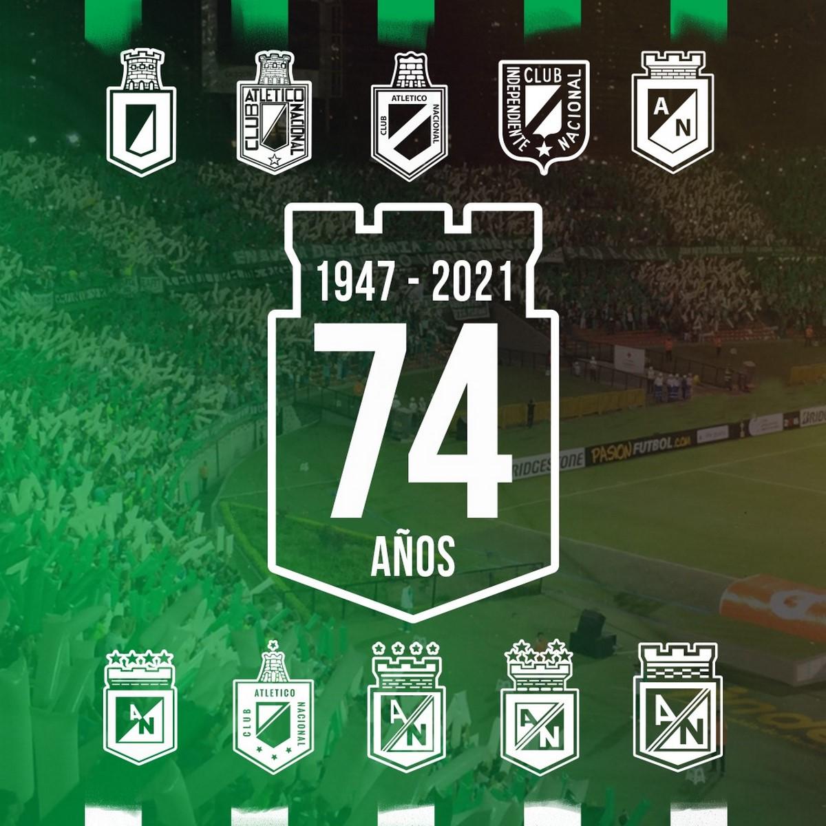 Escudos Atletico Nacional