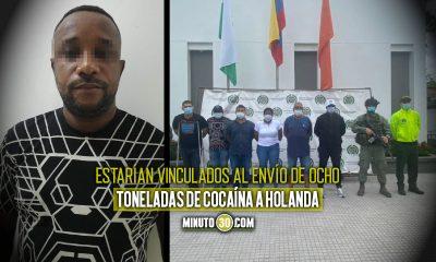 ¡Los 'agarraron cargaditos'! Enviaron a la cárcel a un Inspector, un Patrullero y un Teniente de la Policía de Urabá por narcotráfico