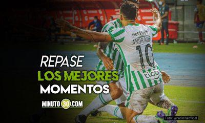 Goles del triunfo de Atletico Nacional en Copa Libertadores