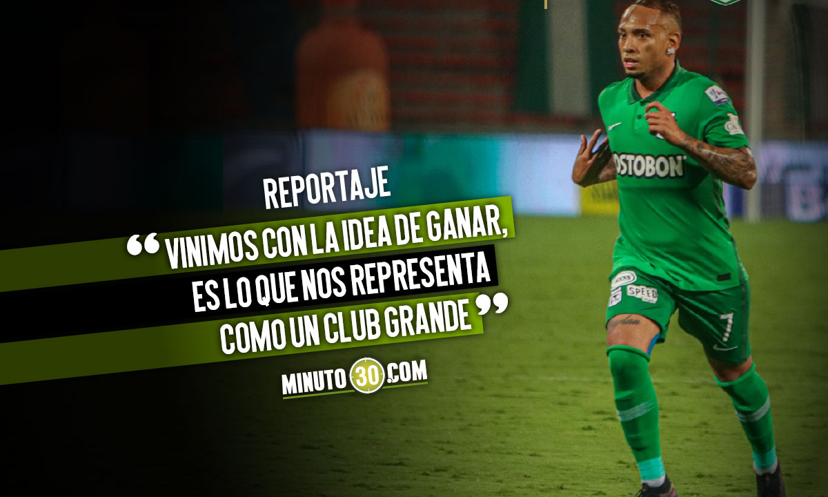 Jarlan Barrera analizo el empate ante Nacional en Copa Libertadores