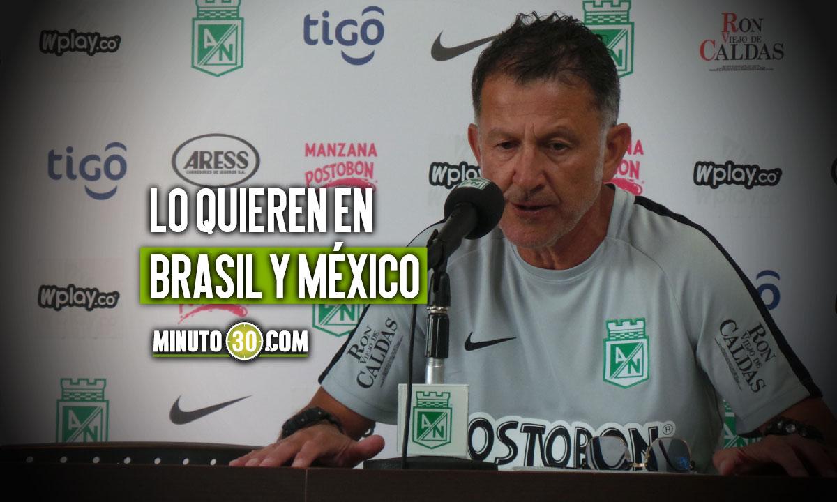 Juan Carlos Osorio con pretendientes de peso