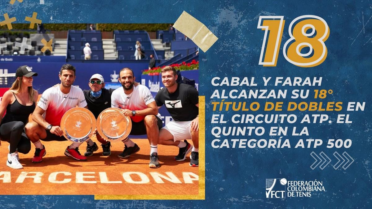 Juan Sebastian Cabal y Robert Farah defendieron la corona en Barcelona 1