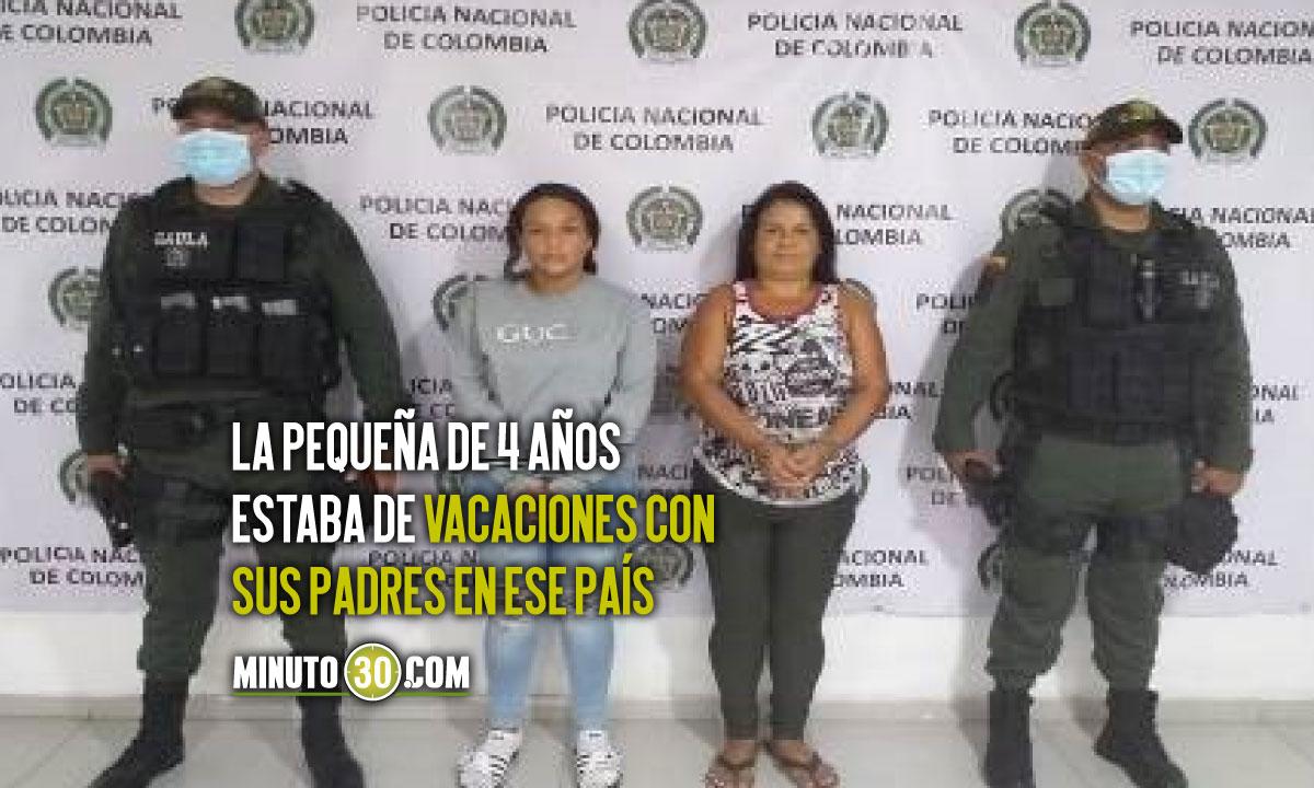 Judicializadas dos mujeres investigadas por el secuestro de una menor de 4 anos en Cucuta