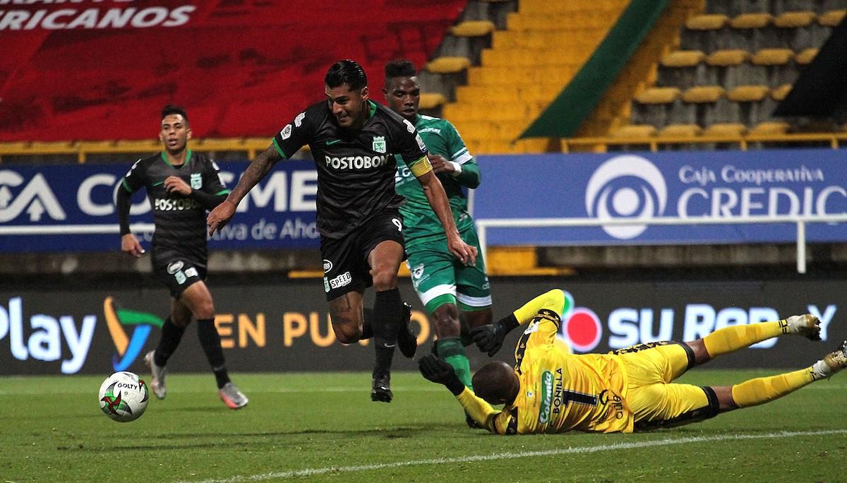 La Equidad derroto 1 0 Atletico Nacional en la Liga BetPlay 4