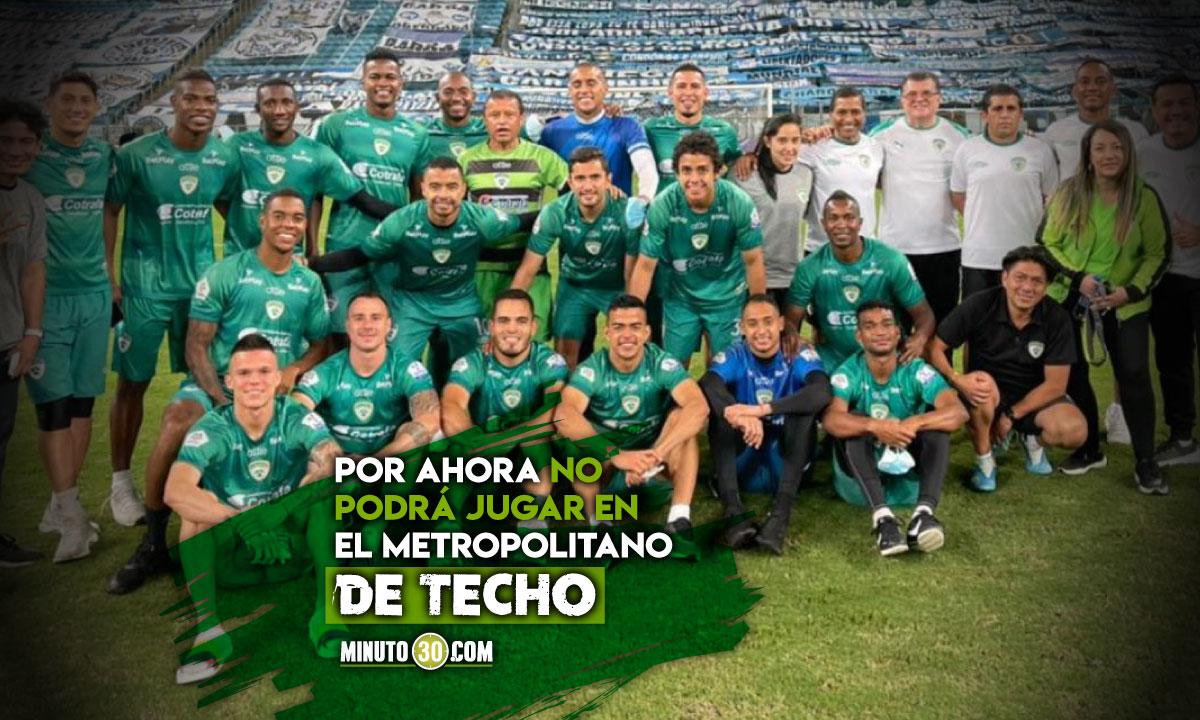 La Equidad encontro estadio para su partido en la Copa Sudamericana