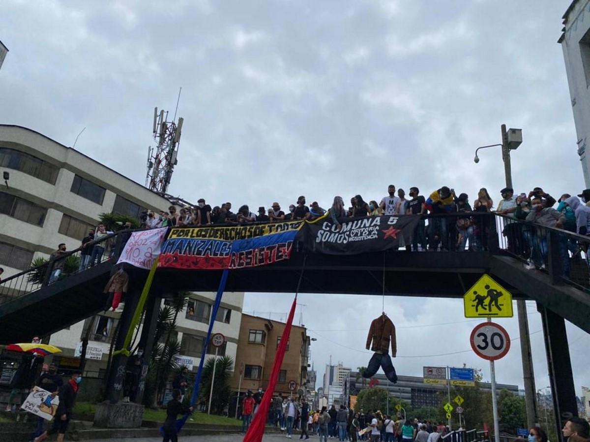 Manizales marcha paro nacional 2