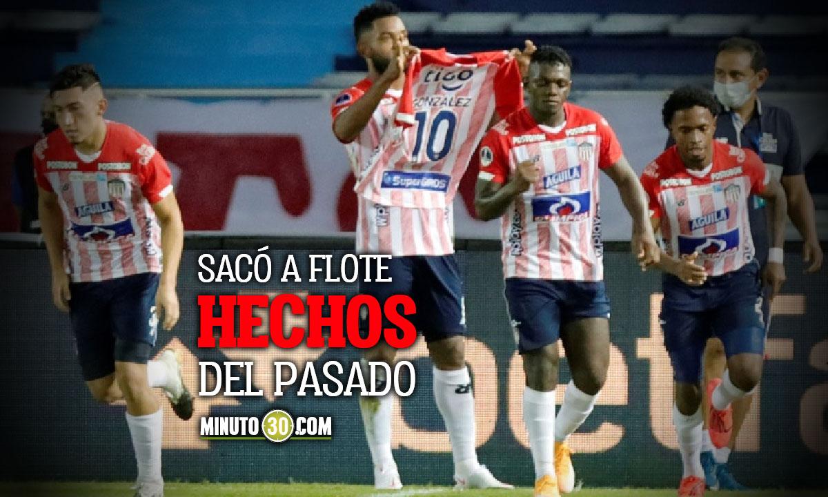 Miguel angel Borja calienta la previa del duelo ante River Plate