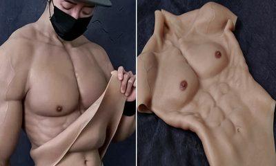 Fotos: De los creadores del calzón de espuma, llegan los músculos falsos