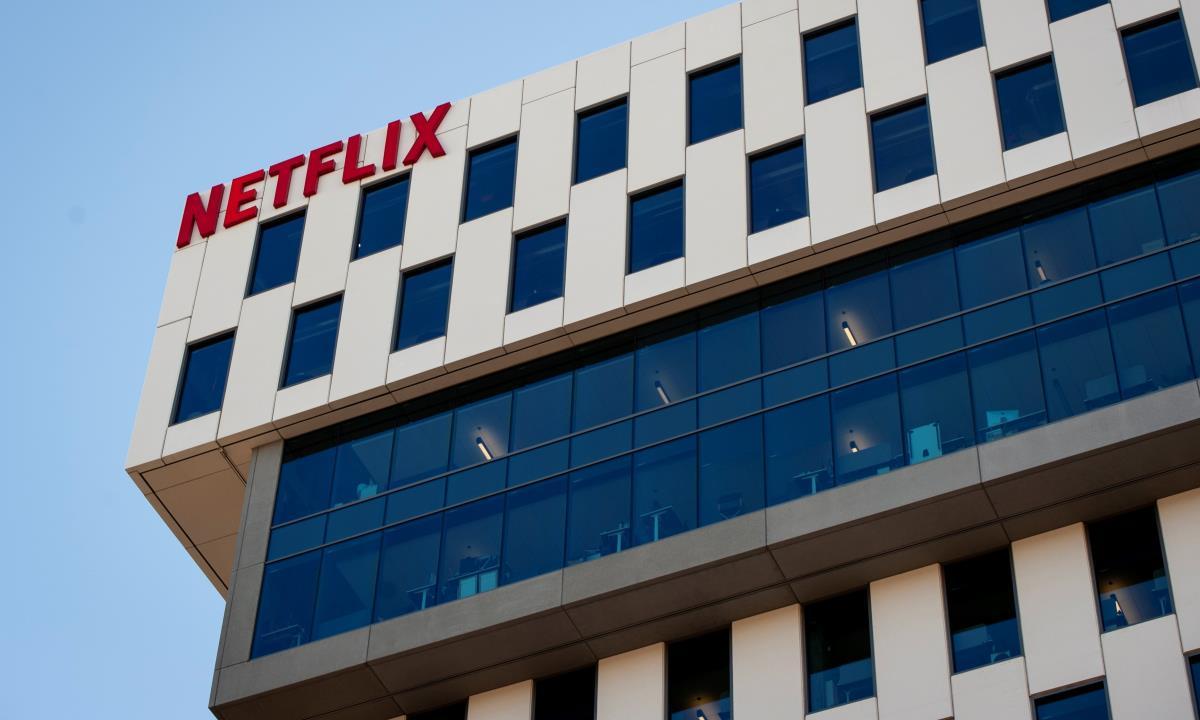 Sede de Netflix en Los Ángeles. EFE/EPA/CHRISTIAN MONTERROSA/Archivo