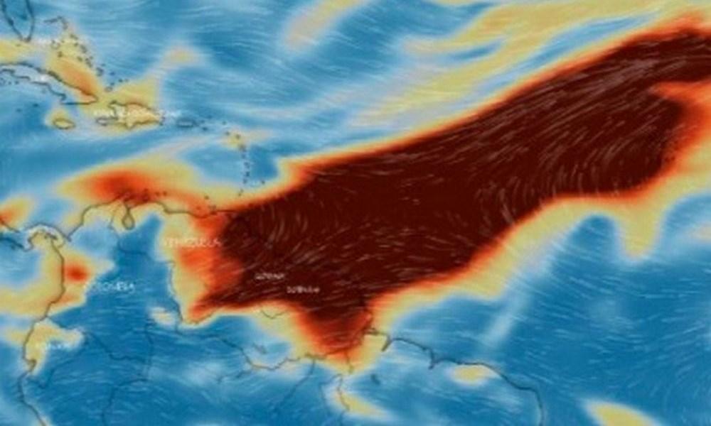 Nube de dioxido de azufre