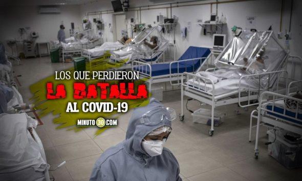 En Colombia 367 perdieron la batalla contra el Covid