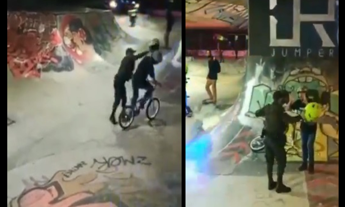 Video: Esto fue lo que dijo la Policía sobre la agresión a deportista de BMX en Medellín