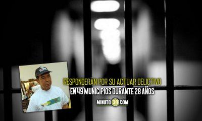 Condenaron a Ramón Isaza y a 59 postulados más
