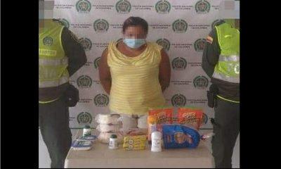 Capturaron a una mujer por presuntamente robar alimentos en un supermercado
