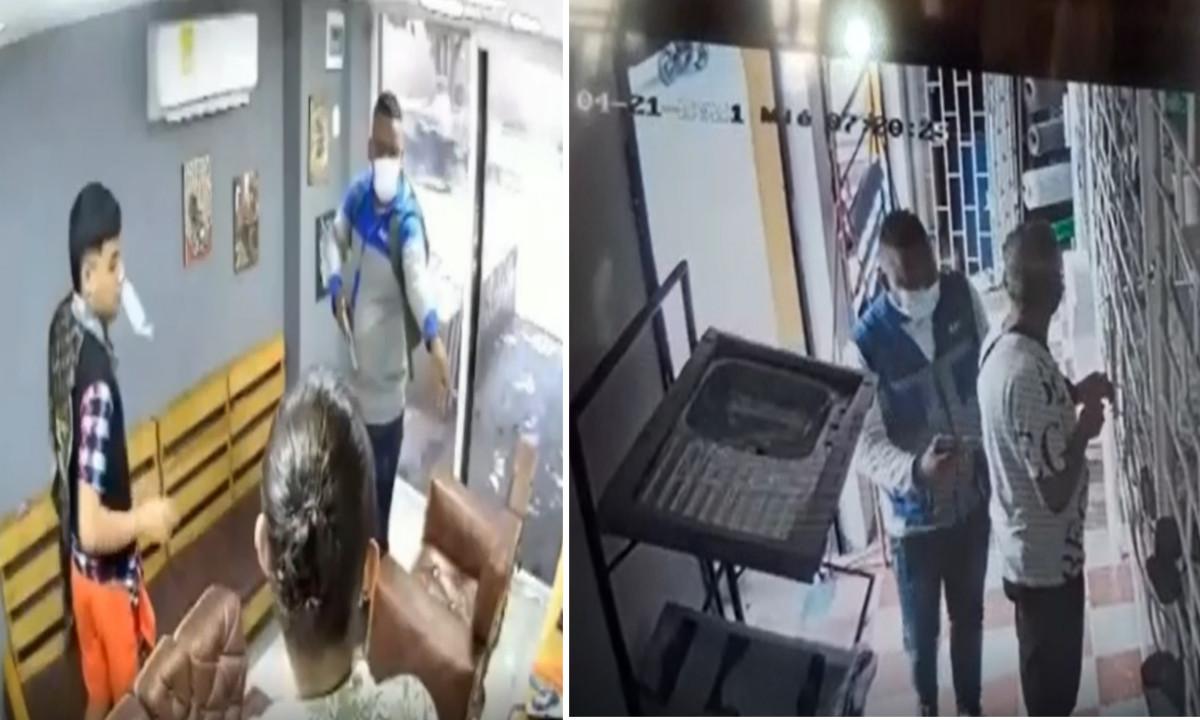Video: ¡Qué 'liso'! Delincuente en Barranquilla robó en varios locales en un solo día