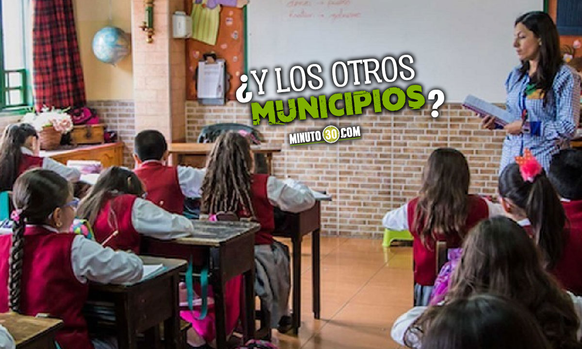Se suspende la alternancia educativa en 36 municipios de Antioquia