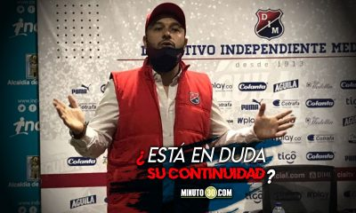 Seguira Hernan Dario Gomez al frente del DIM el presidente del Rojo responde
