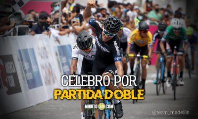 Team Medellin hizo monona en la Vuelta a Colombia