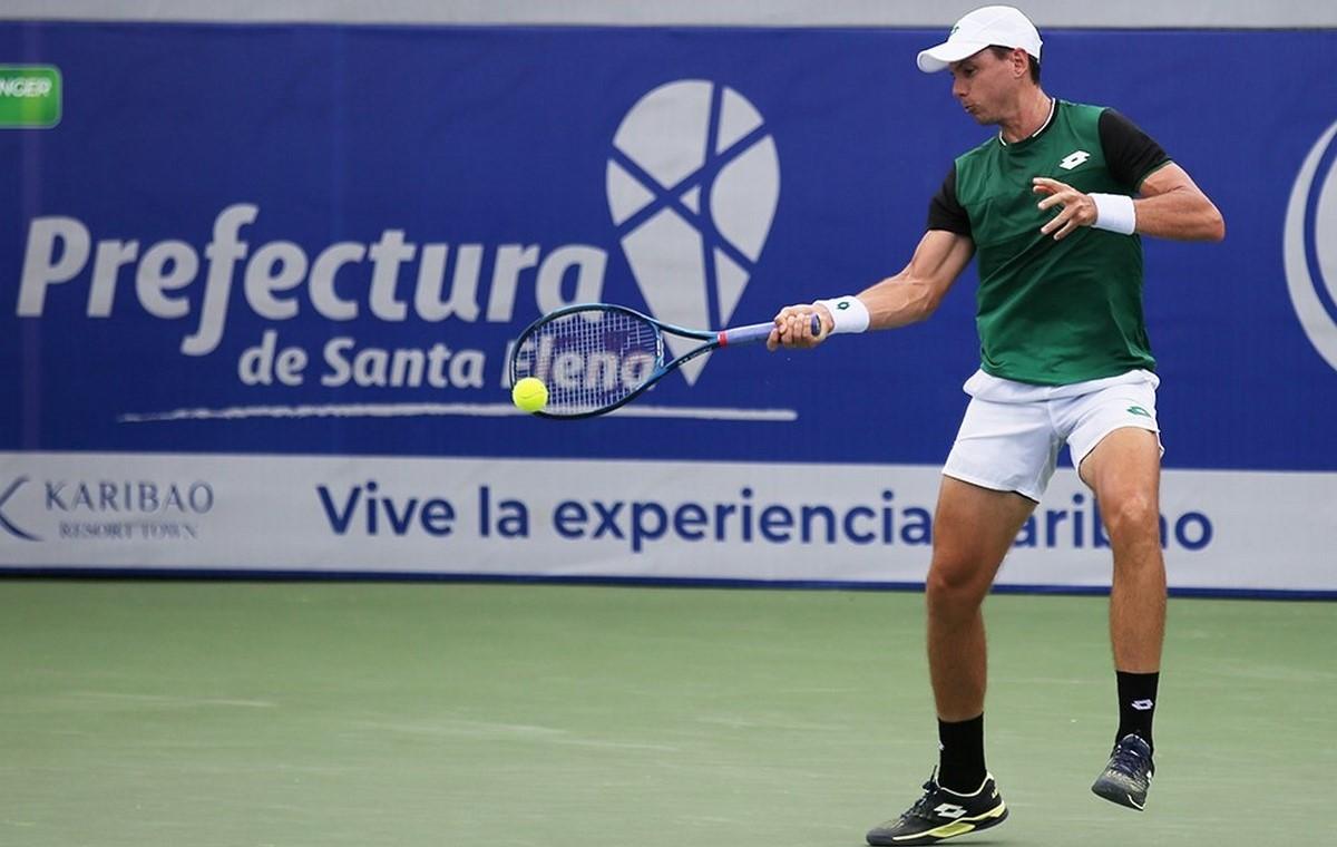 Tenista Alejandro Gonzalez