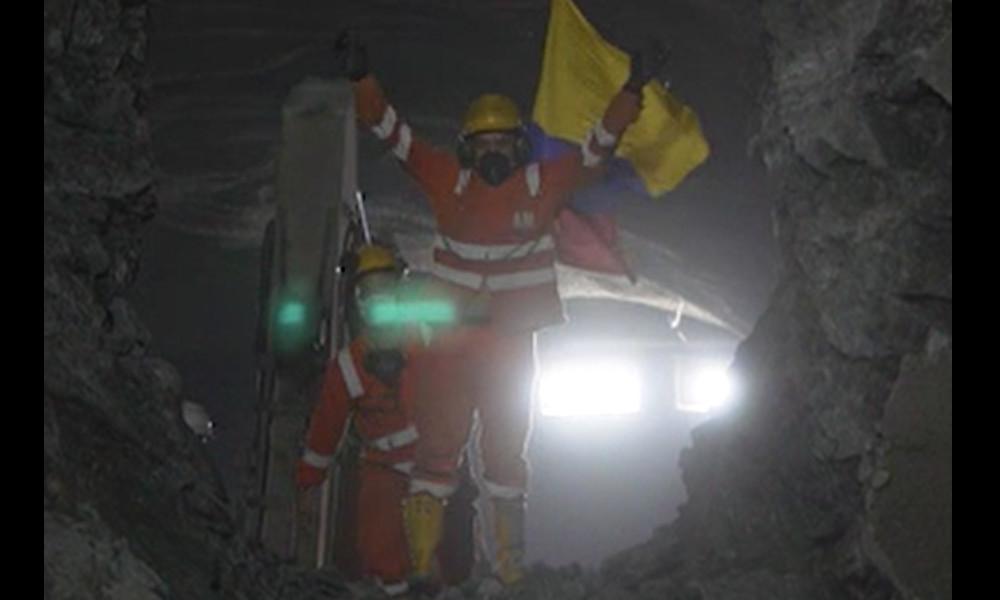 Video: ¡Emocionante! Vea el momento en el que las dos bocas del Túnel de Amagá se encuentran