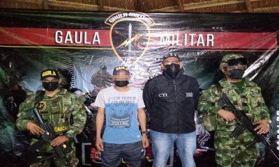 Venezolano fue rescatado por el Ejército, habría sido reclutado por un grupo armado ilegal en Antioquia