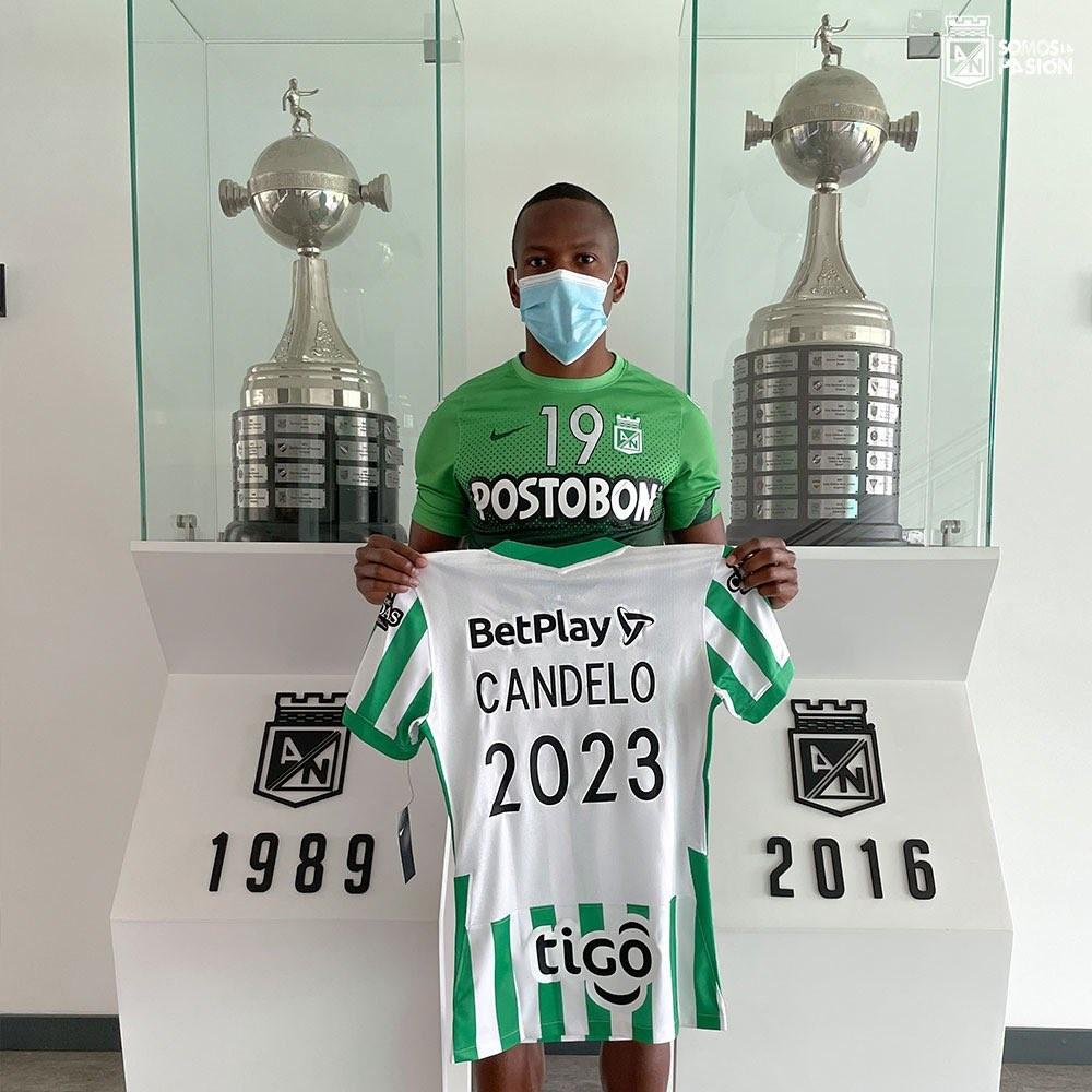 Yerson Candelo extendio contato con Nacional 2