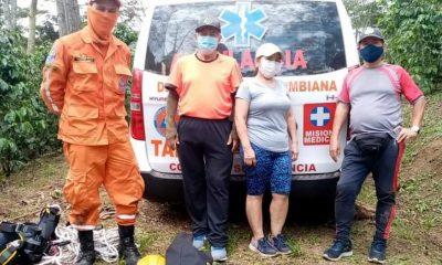 Rescataron a tres adultos mayores que se habían perdido haciendo senderismo