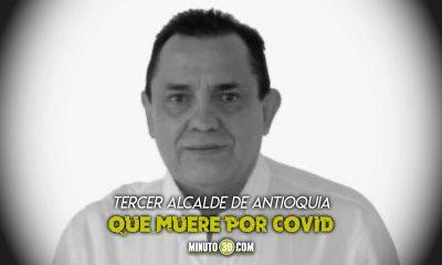 ¡Muy triste! Murió el Alcalde de Titiribí tras contagiarse de Covid