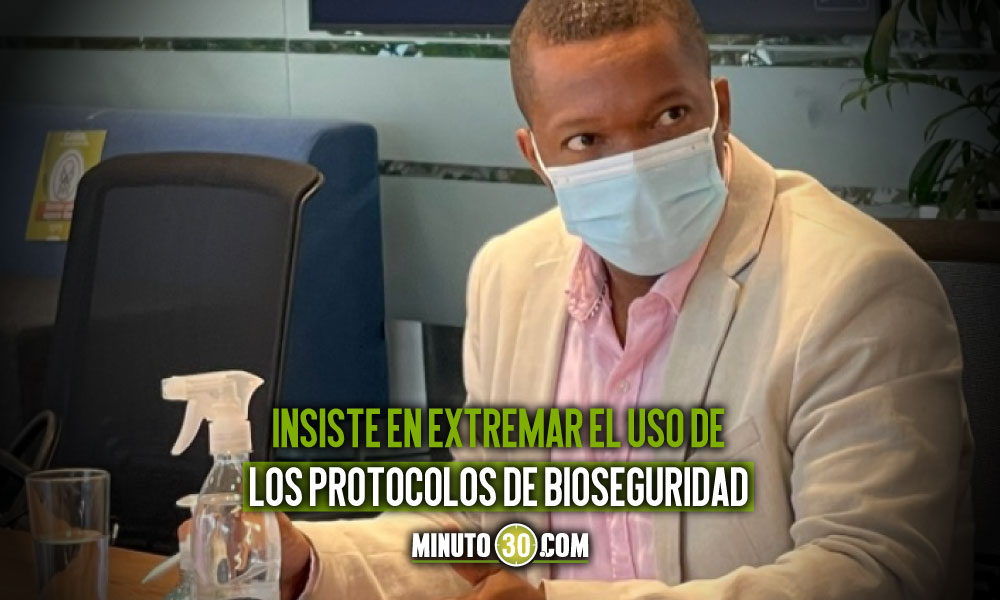 Personero de Medellín preocupado por cifras covid