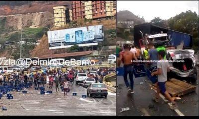 camion volcado venezuela