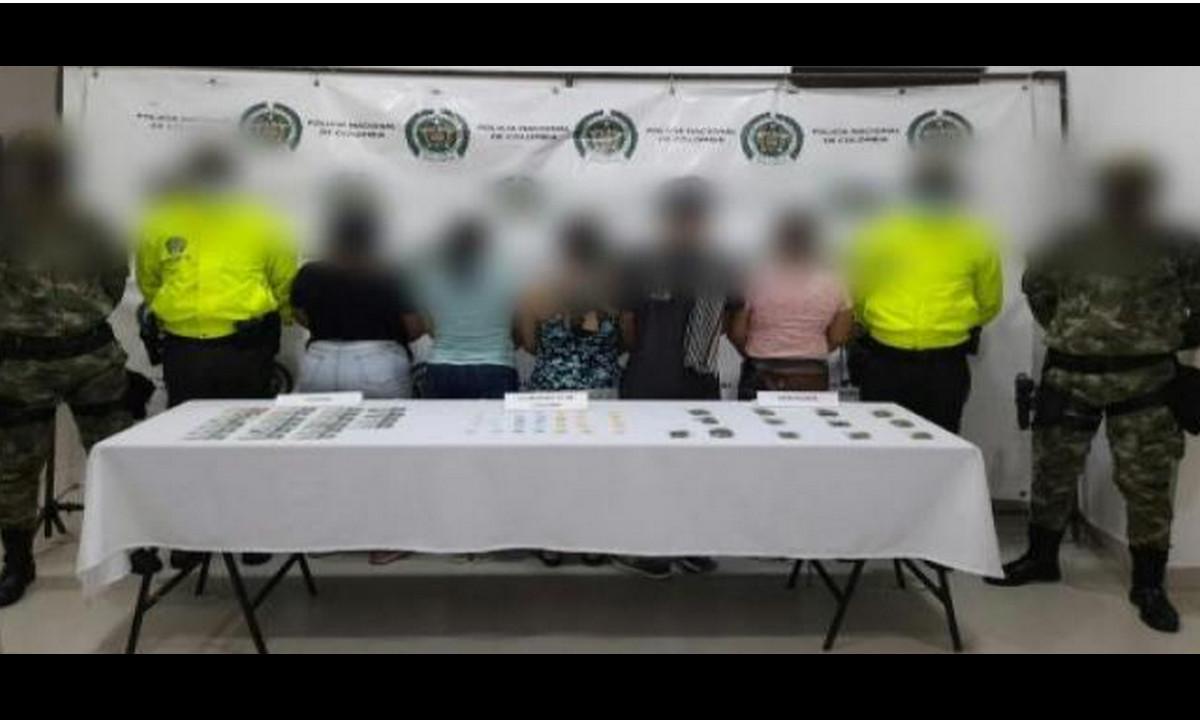 ¡Ay señoras! Pillaron a cuatro mujeres vendiendo droga en Apartadó