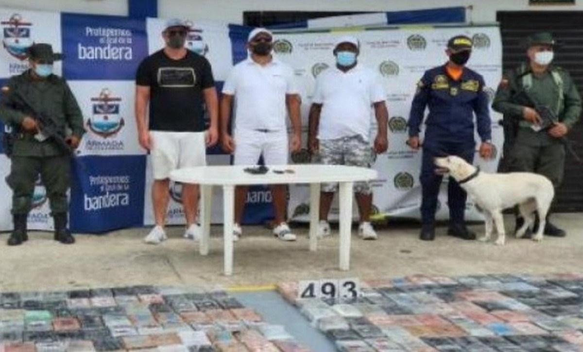 capturado cartagena cocaina