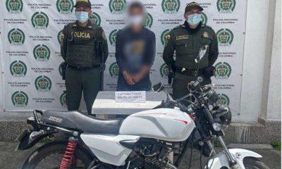 capturado guarne moto robo