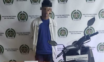 Capturado por hurto de moto en Medellín