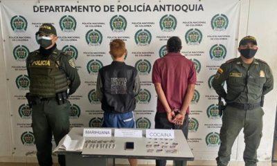 capturados Fredonia y Amaga