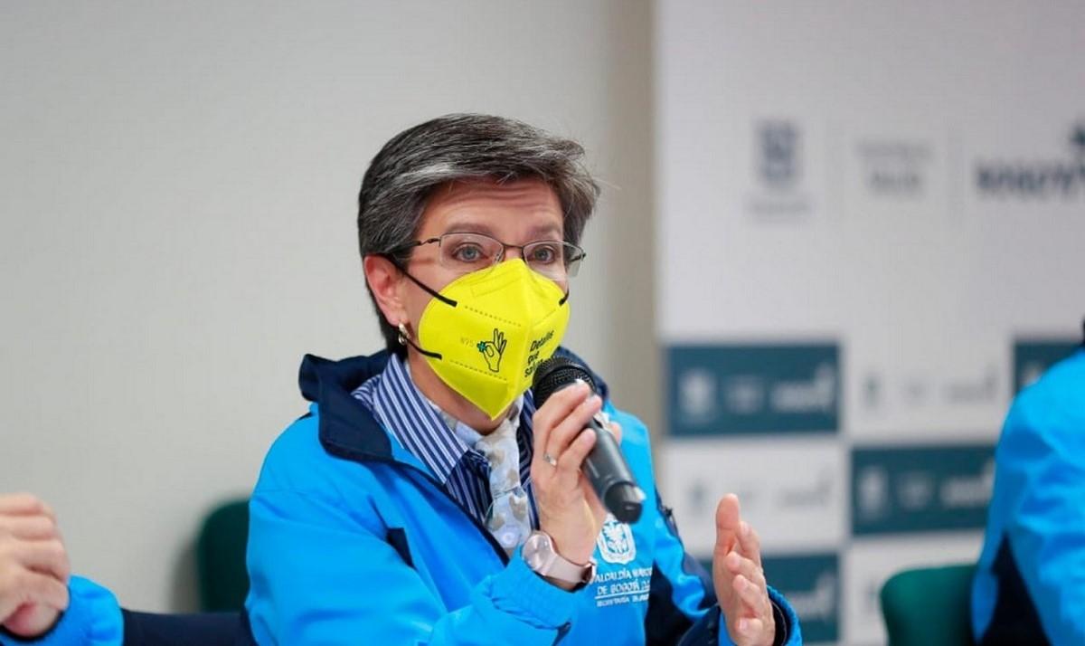 """""""Hoy Bogotá tiene el más alto número de UCI que haya tenido en su historia"""": Claudia López"""