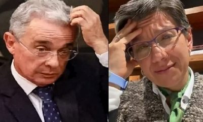 Claudia López respondió al trino de Uribe